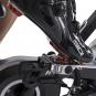 Cyklotrenažér Tunturi FitRace 40 HR oboustarnné pedály s SPD 2