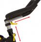 BH Fitness Duke Magnetic nastavení řídítek